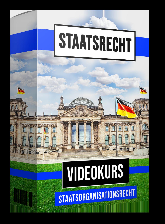 Staatsrecht I - Staatsorganisationsrecht (Videokurs)